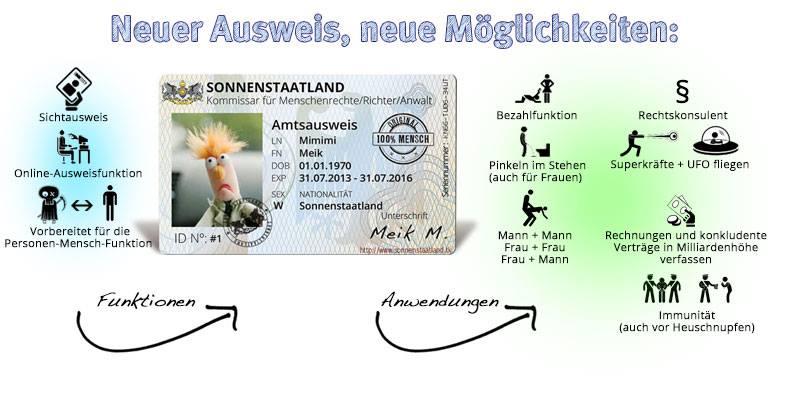 Dein neuer Ausweis und deine neuen Möglichkeiten