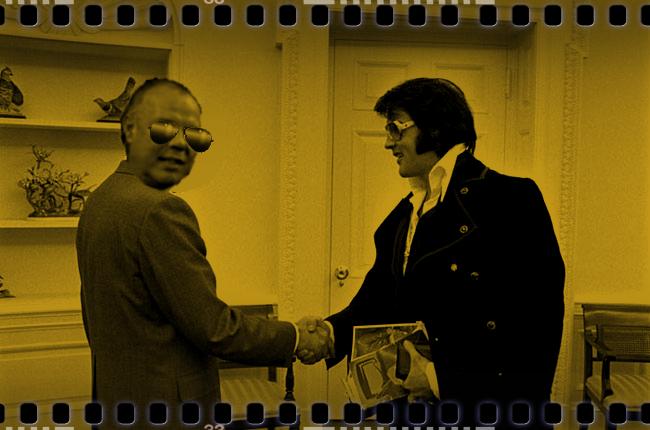 Ferstel mit Elvis