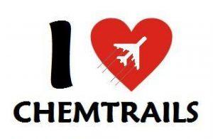 """Logo der Kampagne """"I Love Chemtrails"""""""