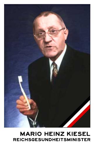 Gesundheitsminister Mario Romanowski