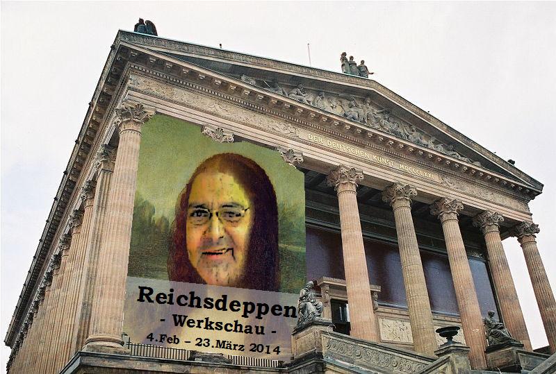 Alte Nationalgalerie - Reichsdeppen Werkschau eröffnet