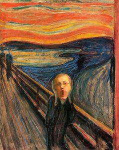 "Edvard Munch – ""Der Lohl-Schrei"" (1893, Munch-Museum, Oslo)"
