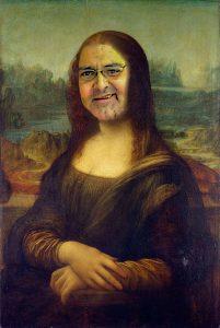 """Leonardo Da Vinci - """"Broila Lisa"""" (1503/1506, Louvre, Paris)"""