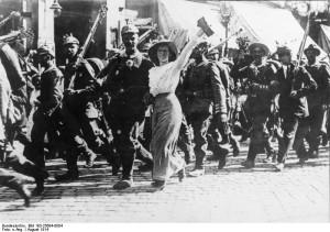 I. Weltkrieg, Mobilmachung
