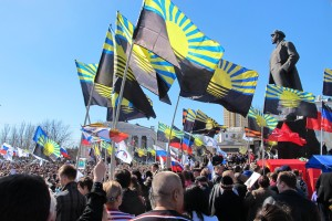 Prorussische-Kundgebung-in-Donezk