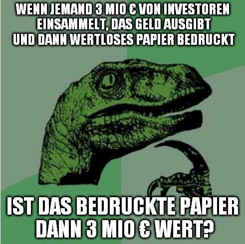 Philosohieraptor Reichsbank