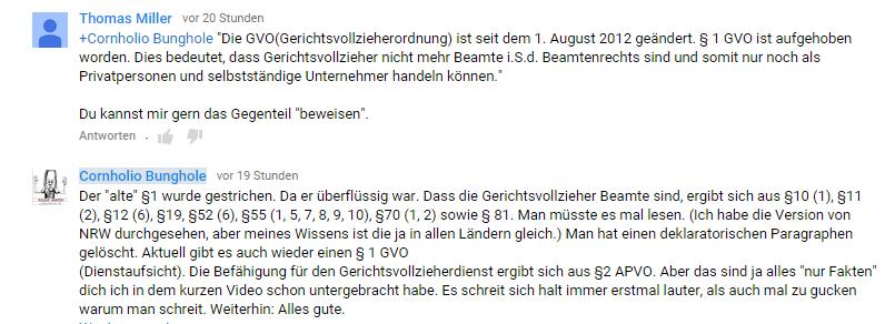 Reichsbürger können nicht lesen