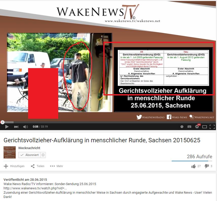 WakeNews illegale Aufnahmen Gerichtsvollzieher
